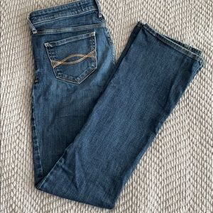 Abercrombie & Fitch slim kick boot cut jeans